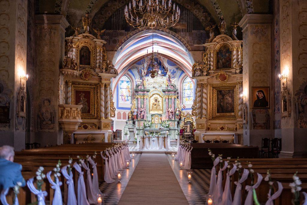 kościół w Uniejowie
